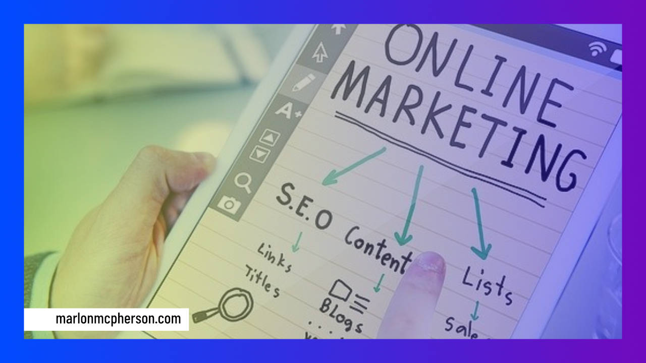 Online Marketing Plan Image